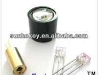 Laser sensor laser head+modulation tube+receiver tube+lens the laser development photoelectric design