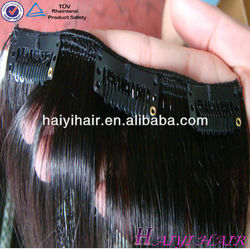 Most Popular Wholesale Price Virgin Remy Jessica Clip Hair Extension
