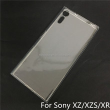 Soft TPU Silicon Transparent Clear case for Sony xperia xz/xzs/xr