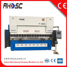 China Nanjing Bystric wc67k67y67 sheet metal bending machines steel plate bender user manual DA41 controller press brake drawing