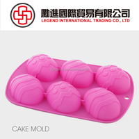Custom design high quality silicone bakeware cake baking mould