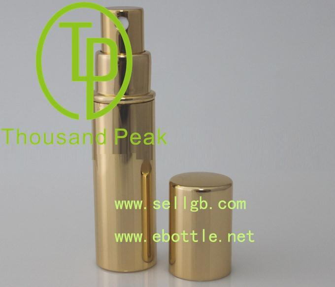wholesale 10ml aluminium refill perfume atomizer spray bottle made in china