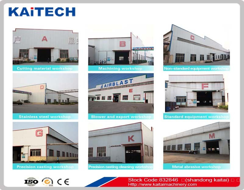 industrial used dustless blasting equipment/sand blasting equipment QH69