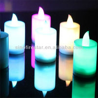 color changing tealights led candle