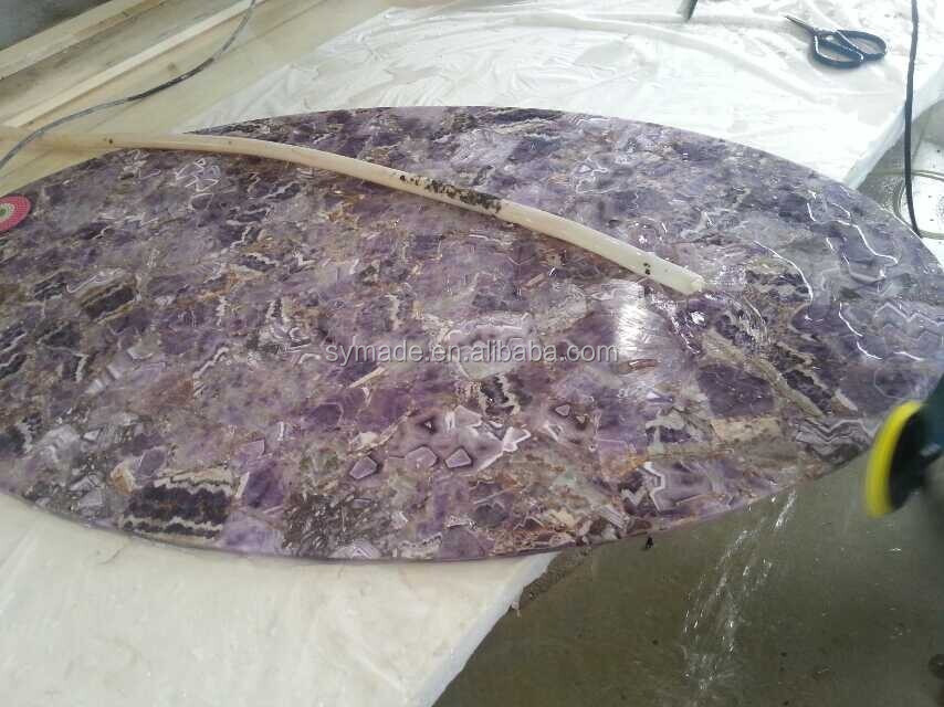 Purple Onyx Slabs : Purple onyx marble slab blacklit amethyst precious