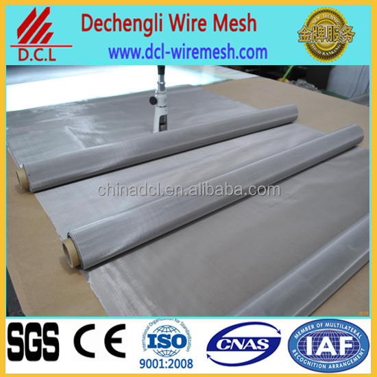 reverse dutch stainless steel wire mesh factory