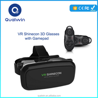 2015 Best-selling Factory Directly High Quality VR Shinecon 3D Glasses Real Virtual Google Carboard Virtual Reality 3D VR Box