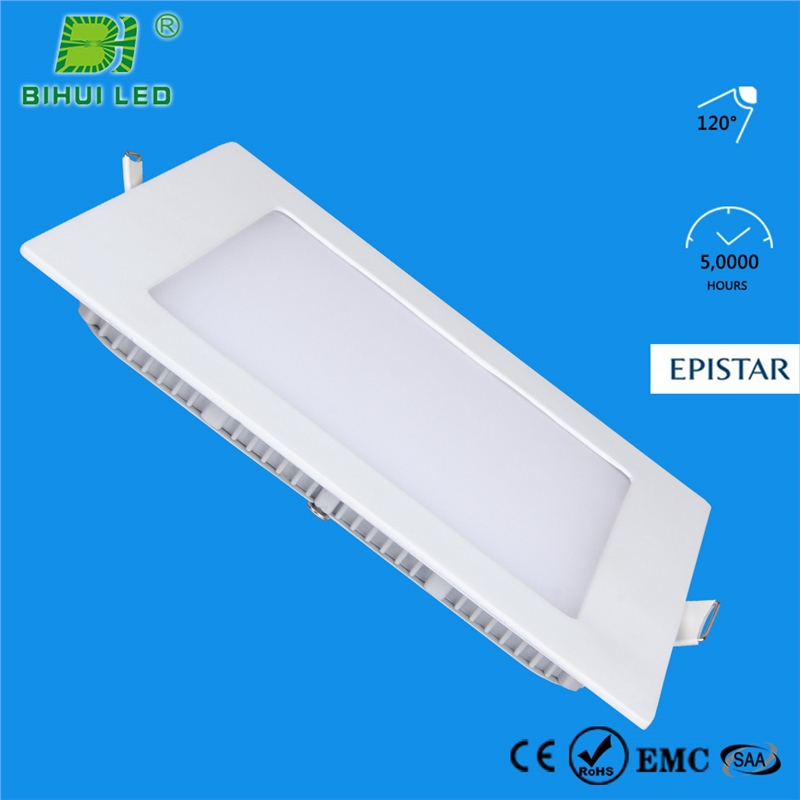 high brightness round office ultra thin energy conservation 12w led panel tube light