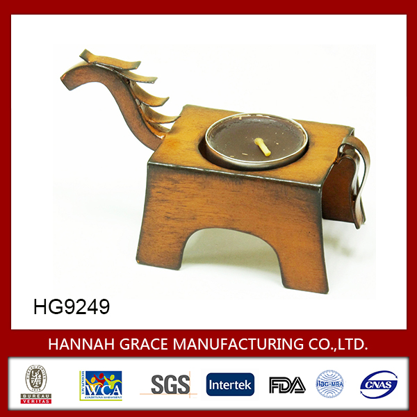 Horse Ornament Tealight Candle Holder
