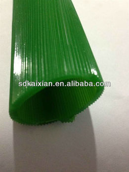 PU corrugated Sleeve / pu casting tube for ceramics
