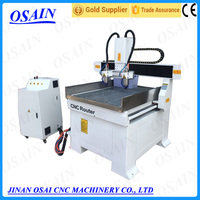 OSAIN Good Quality 2 Axis Mini 6090 CNC Router ATC Stone / Wooden Machine From China