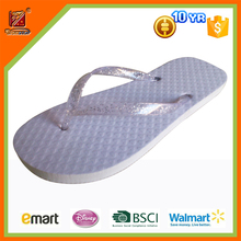 2016 fashion lovely romantic white shinning rubber wedding favors flip flop