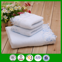 3pcs box wedding souvenir towel for Wedding business gifts
