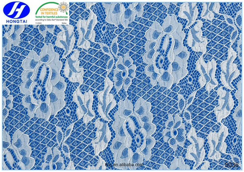 factory price polyester cotton fabric and swiss voile lace from hongtai in fuzhou changle