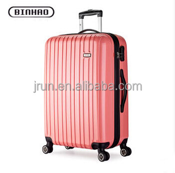 hot selling PC zipper luggage airport luggage