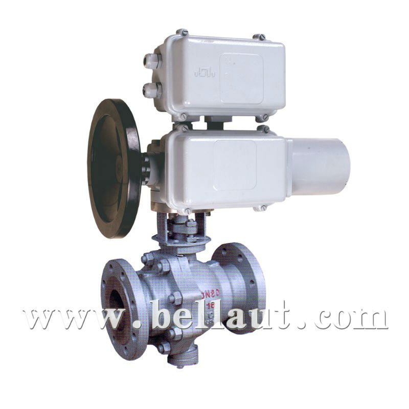 Motorized Control Ball Valve of strong sealing capacity
