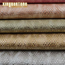 China Snake Skin Shining Synthetic Leather