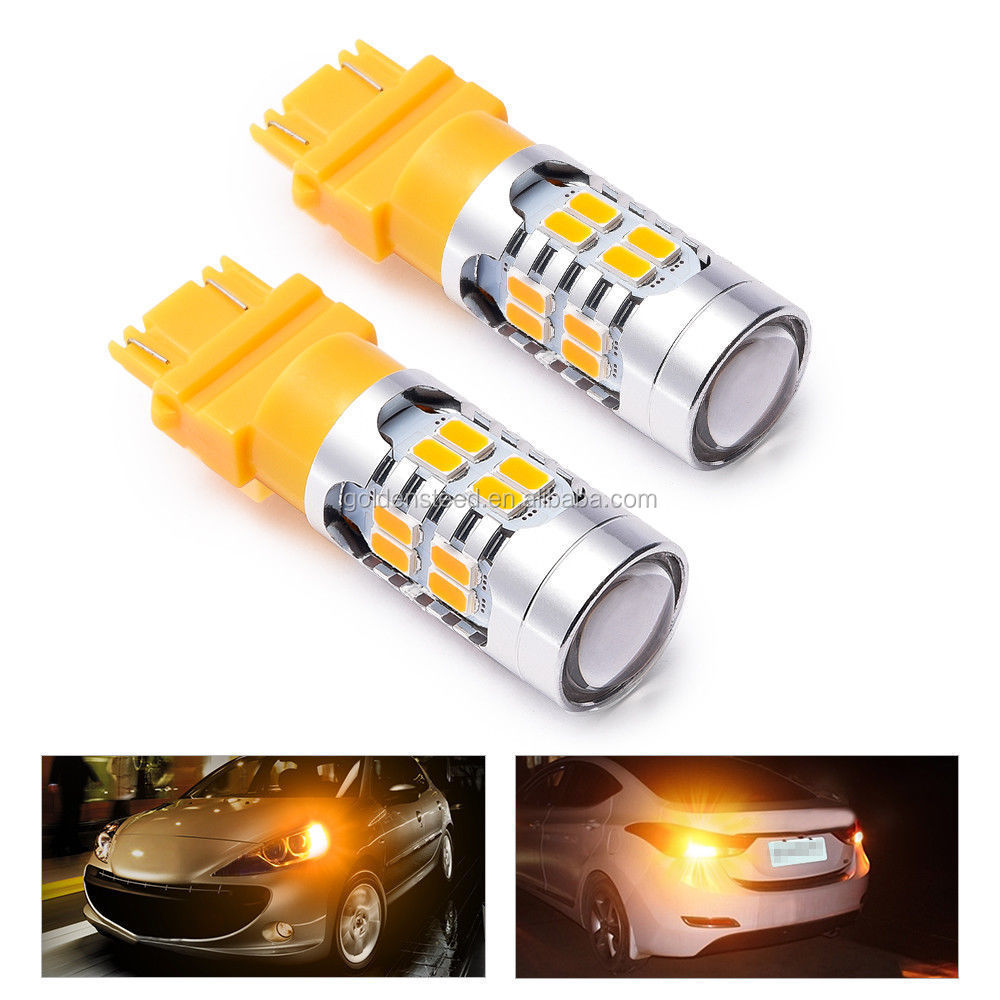 MICTUNING 2x3157 3156 LED Turn Signal Lights Blinker Bulbs Amber Yellow Corner Be the first to write a review.