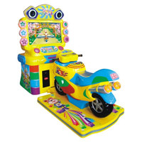 Sealy motorcycle simulator game machine coin operated arcade game Vacation Motorcycle