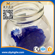 Blue silica gel for tranformer,color changed silica gel with low price