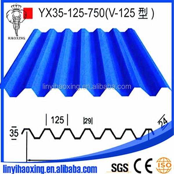 GI/hot Dip Color Galvanized Corrugated Metal U003cstrongu003eroofu003c/strong