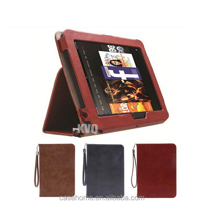 Standing Leather Flip Case Cover for Amazon Kindle Fire HD 8.9 Tablet
