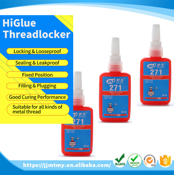 271 Threadlocker -anaerobic glue 10 ml thread locking agent