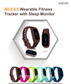 J-style For IOS 7.1 Iphone Ipad Android 4.3 Samsung Galaxy S4 5 Note 3 Fitness Bluetooth Activity Tracker