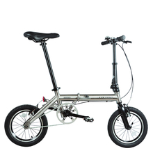 High end 14 inch Titanium folding bike