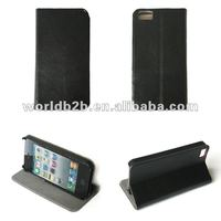High quality Leather Shied Case For iPhone 5 Mobile Phone Case