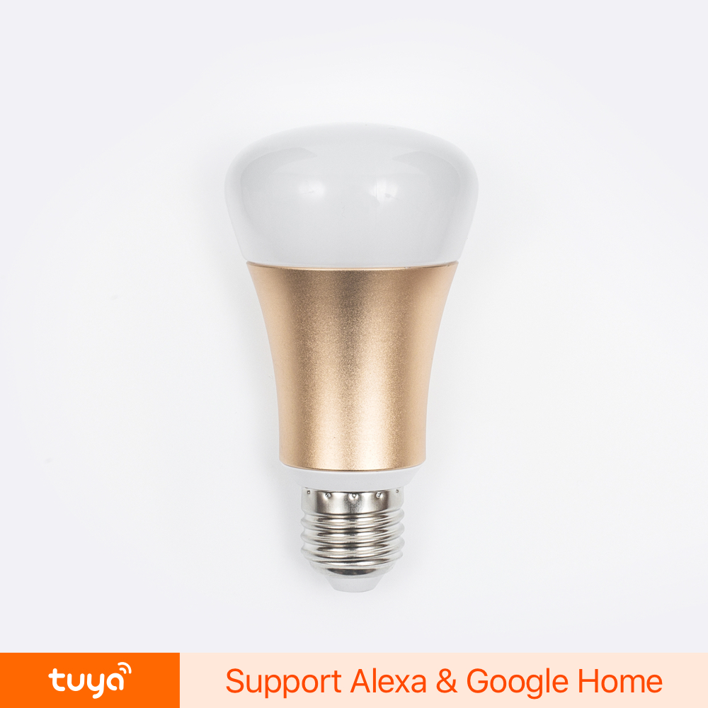 New Designed Programmable Dimmable RGBW Wifi Led Bulb