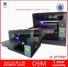 2017 new arrival A3 A2 size multifunction Cheap Digital uv flatbed printer price