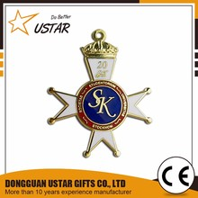 China supplier cheap custom award medals/academic award medals