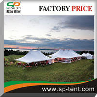 PVC marquee party tent with roof and sidewall for wedding banquet for sale