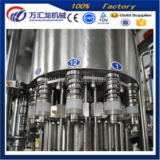 3 in 1 Coke Cola/Soda Drink/Carbonated Water Filling Making Machine with Best Factory Price