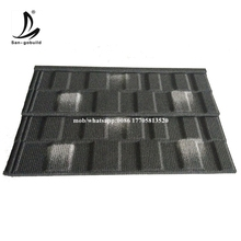 Pouplar sales stone chips coated steel tile /guangzhou building material /metal roofing price asphalt shingles