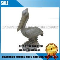 High Quality Resin Pelican Statues Garden Decoration