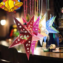 Holiday Decoration gift wrapping film colorful hologram polyester film