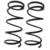 Automible spare parts coil spring for toyota corolla