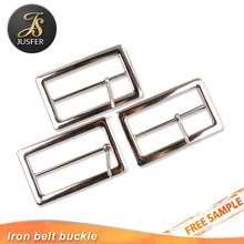High quality cheap custom metal pin belt buckle for canvas belt