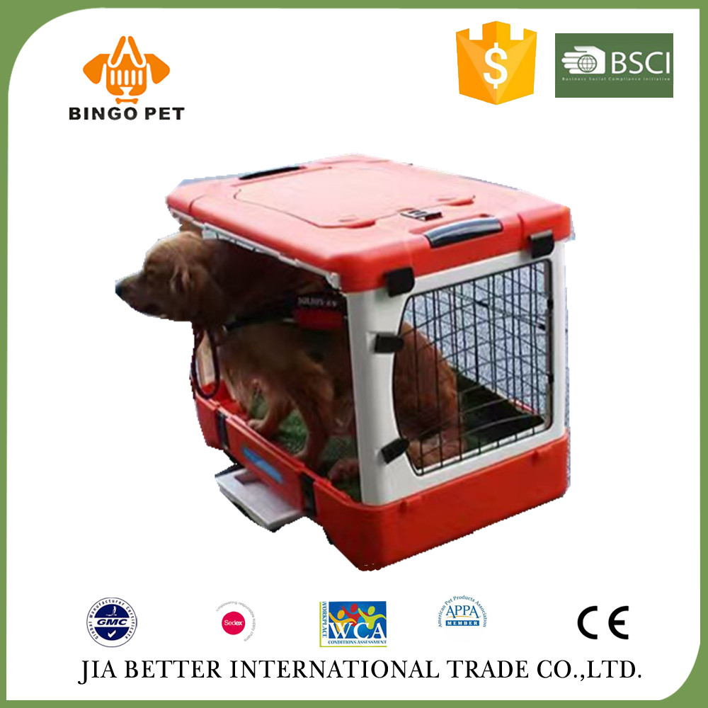 New design folding removable stainless steel dog cage