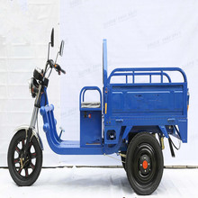 2017 new 45km Milleage 48V650W cargo size electric / electric tricycle van cargo tricycle
