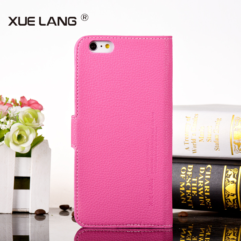 PU leather flip back cover for samsung galaxy S4 leather phone case with card slot