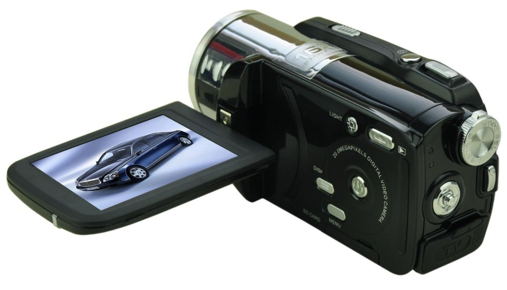 20mp digital video camera with 3.0 TFT display and 16x zoom