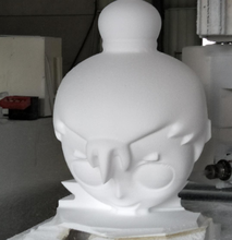 CNC Foam processing Cartoon character <strong>moulds</strong>,custom process