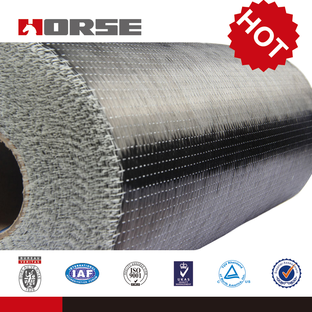 12K 300g/m2 carbon fiber fabric price per kg,for construction structural strengthening