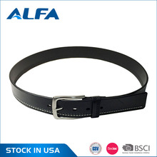 Alfa China Cheap Goods Western Fashion Wide Best Genuine Leather Belts Mexico For Men