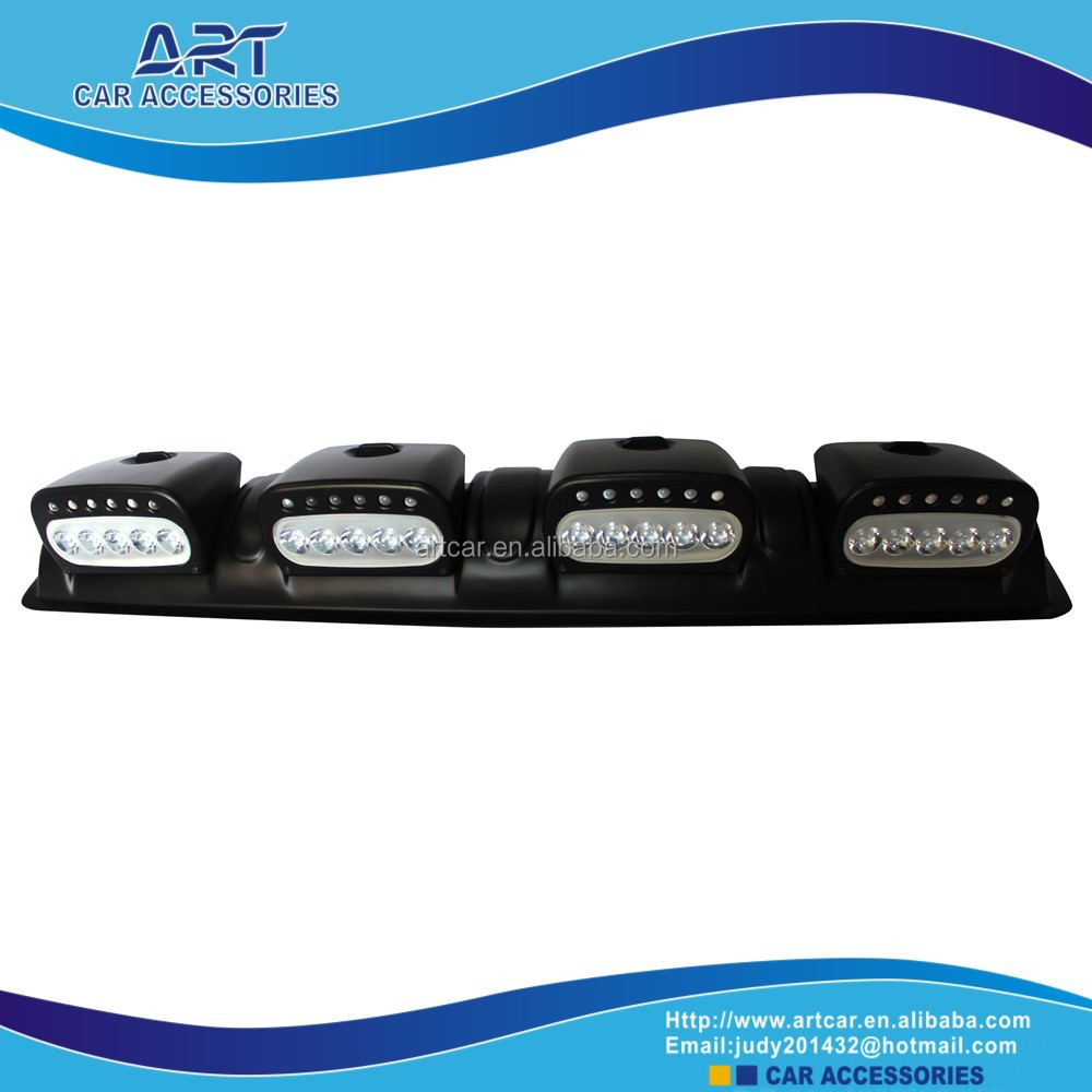 jeep car led drl fog light