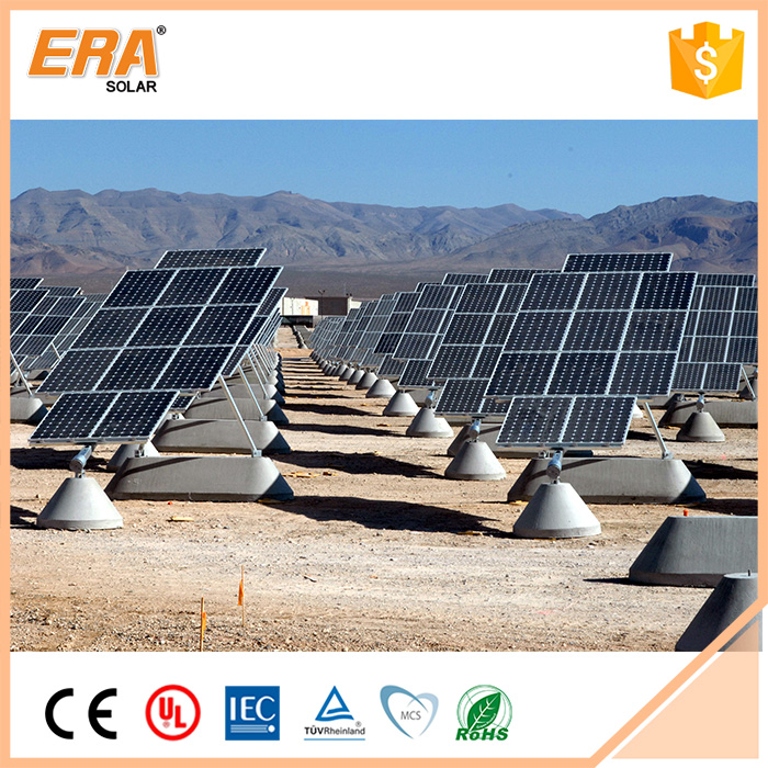 New design factory price RoHS CE TUV 185w monocrystalline solar module/solar panel