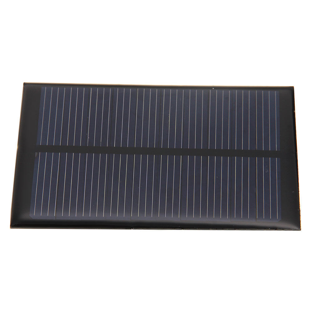 Custom made small size 0.5w mini epoxy solar panel/ solar power panel for led light